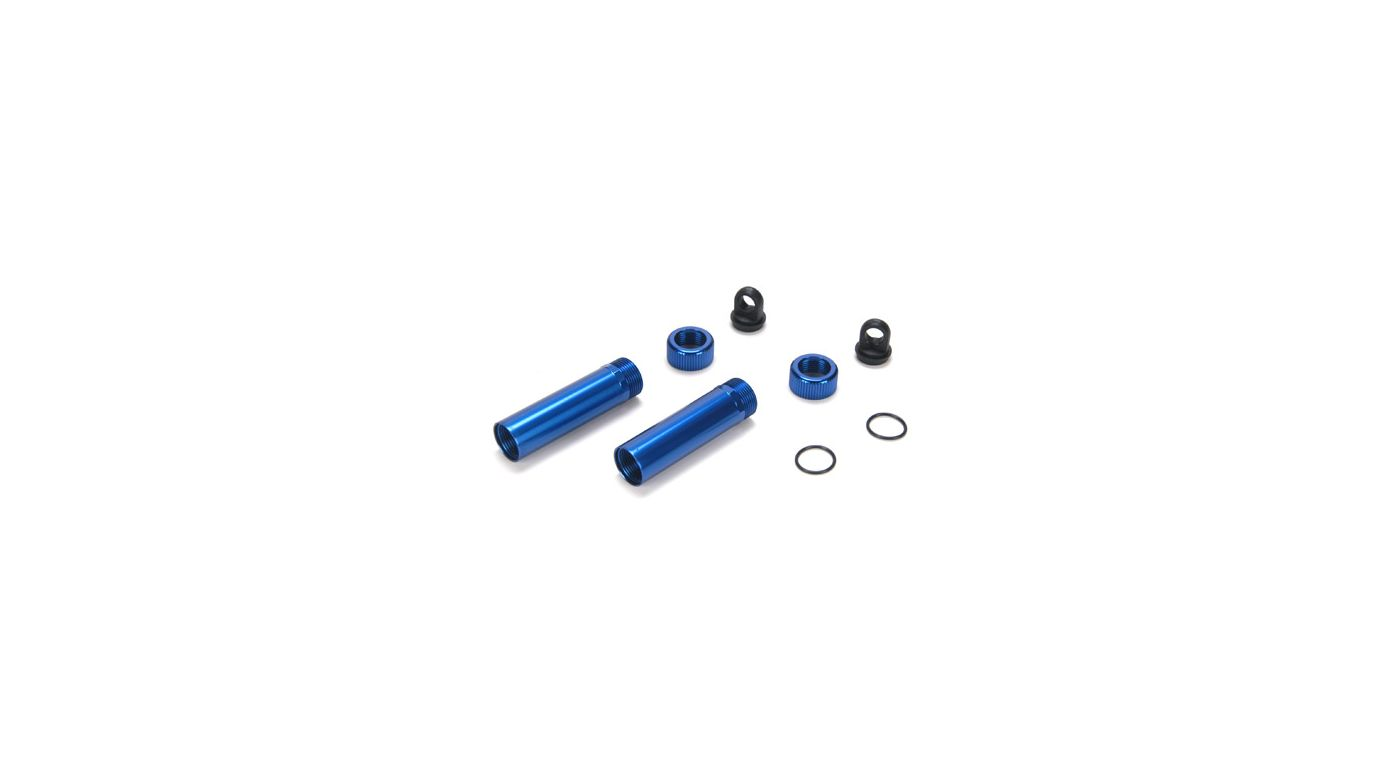 Image for 3-Piece Aluminum Shock Body (2): NCR from HorizonHobby