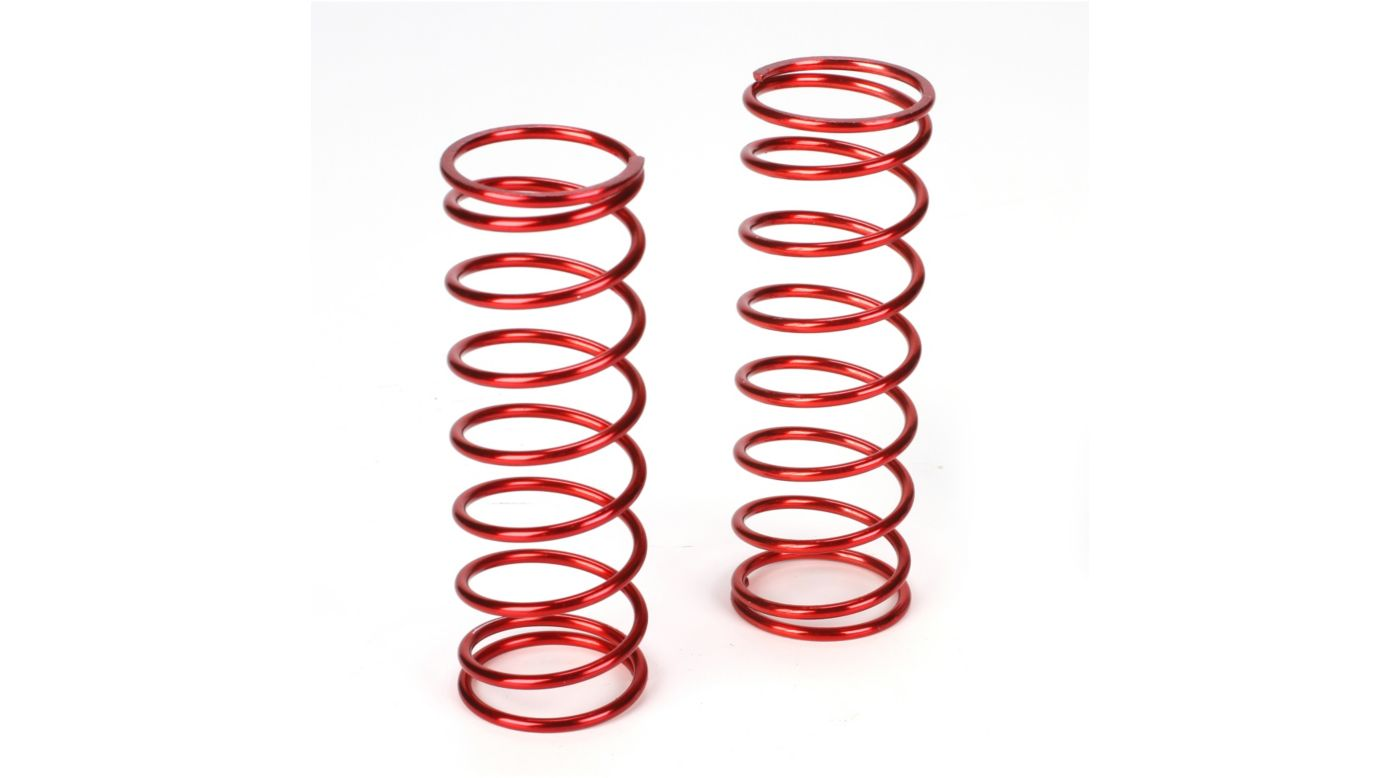 Image for Front Springs 12.9lb Rate, Red (2): 5IVE-T from HorizonHobby