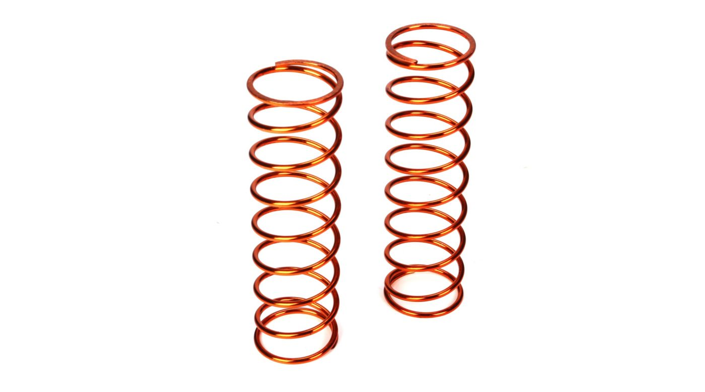 Image for Front Springs 14.2lb. Rate, Orange(2): 5IVE-T from HorizonHobby