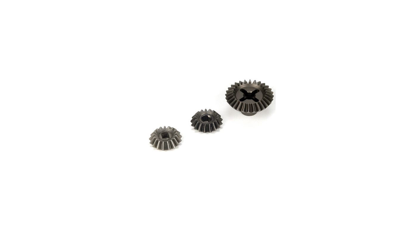 Image for Front/Rear Bevel Gear Set (28/17): LST/2, XXL/2 from HorizonHobby