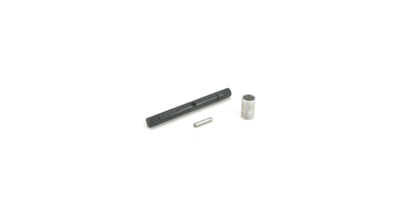 Image for Transmission Output Shaft & Spacer: LST/2,AFT,MGB from HorizonHobby