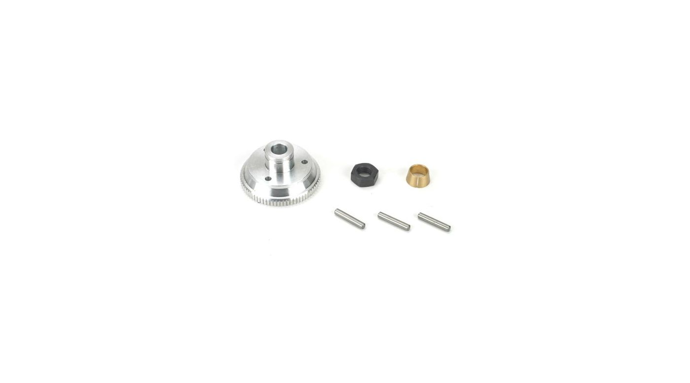 Image for Flywheel, Collet & Nut: LST, LST2, AFT, MGB from HorizonHobby
