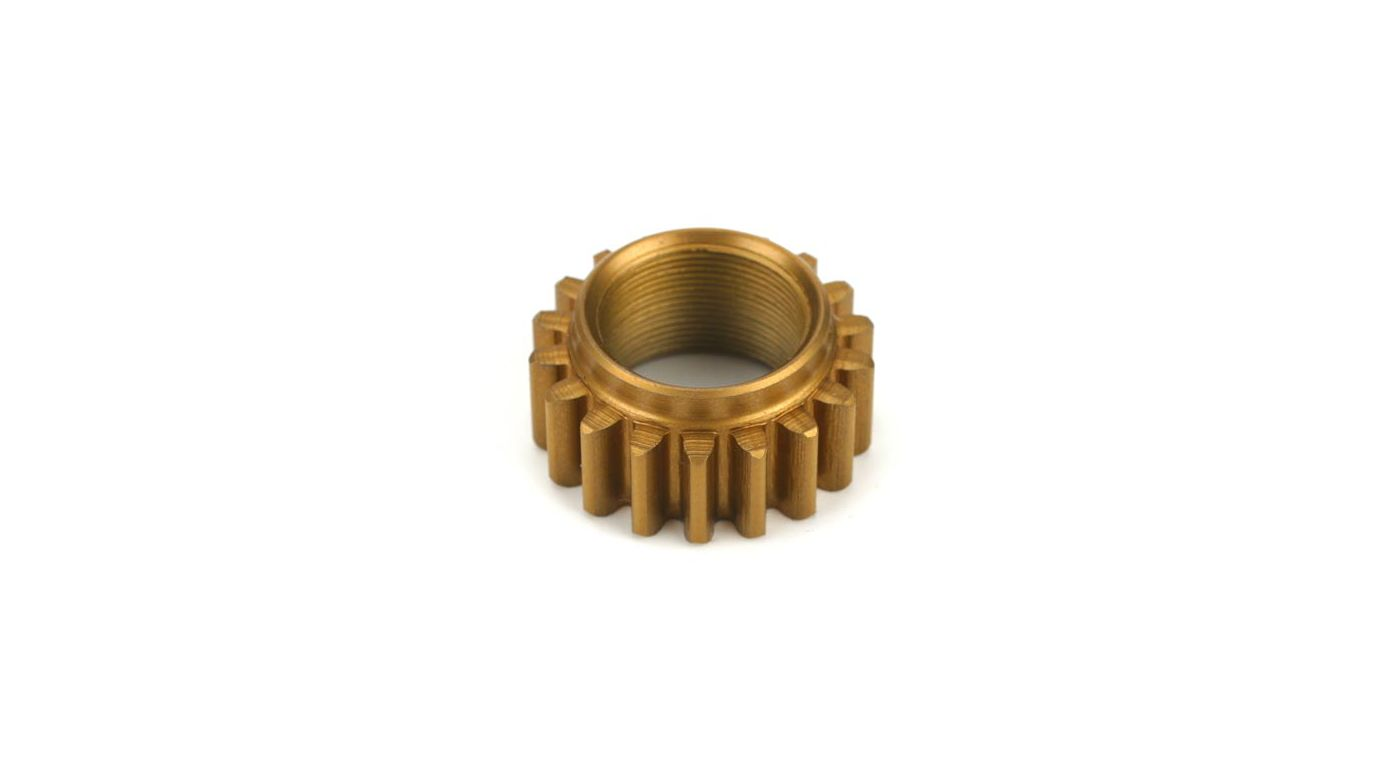 Image for 18T Pinion, Low Gear, Steel, TiNi: LST, MGB from HorizonHobby