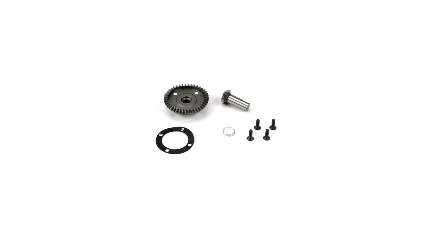 Image for Front/Rear Diff Ring & Pinion: LST/2, XXL/2, LST 3XL-E from HorizonHobby