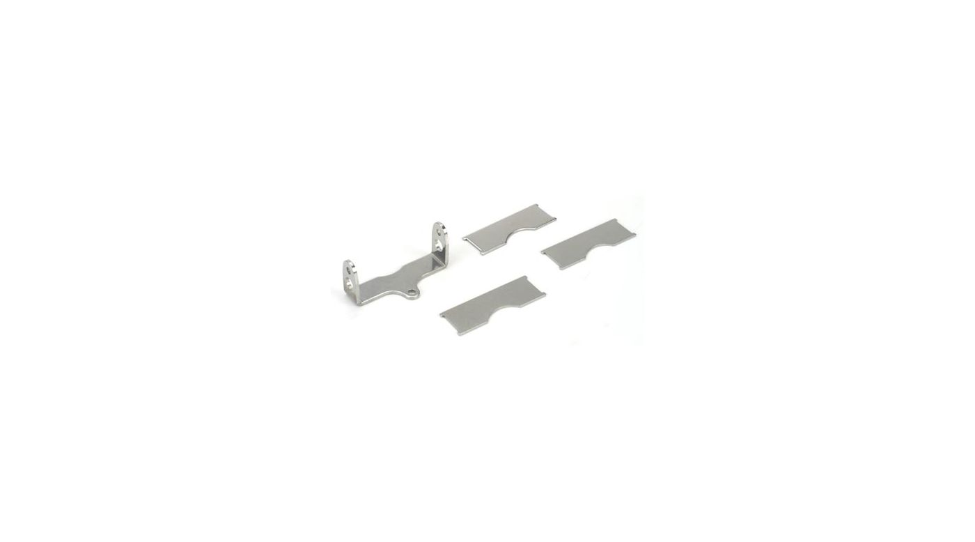 Image for Brake Pads & Bracket: LST, AFT, MGB from HorizonHobby