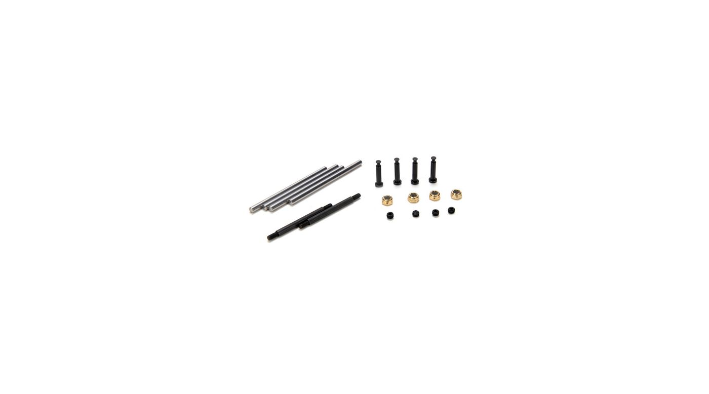 Image for Suspension Hinge & King Pin Set (10): 10-T from HorizonHobby