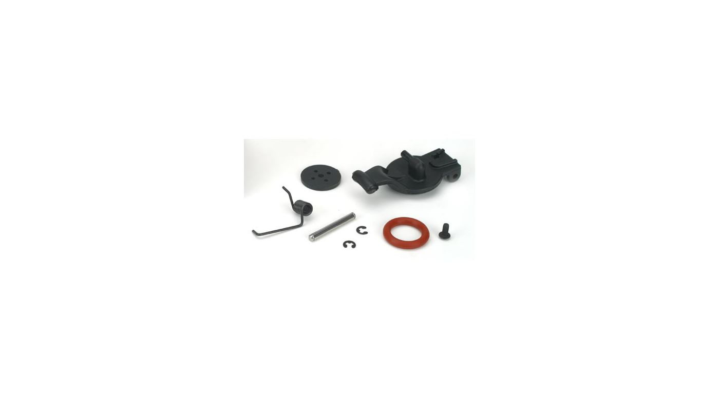 Image for Fuel Tank Lid & Spring: LST, LST2, AFT, MGB from HorizonHobby