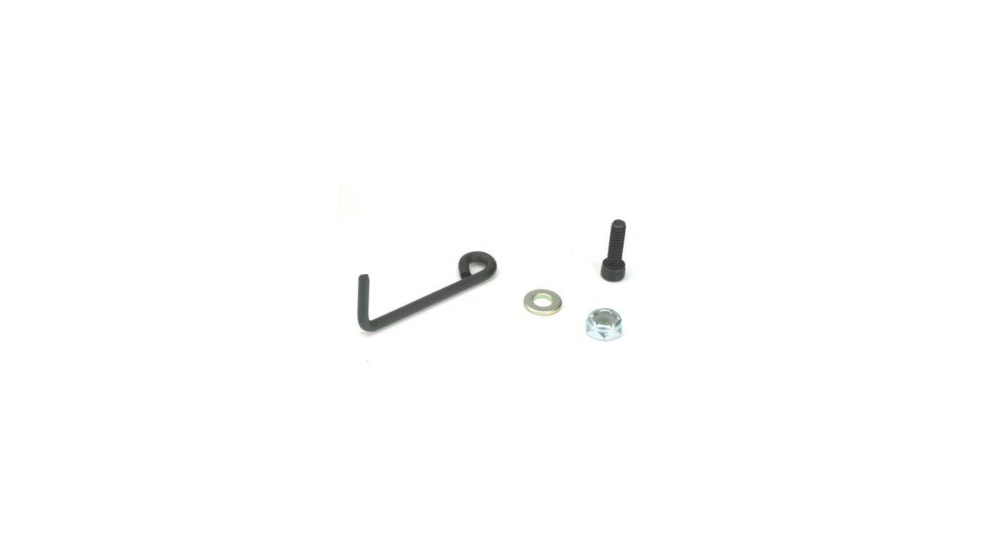 Image for Tuned Pipe Mount & Hardware: LST, LST2, AFT, MGB, XXL/2 from HorizonHobby