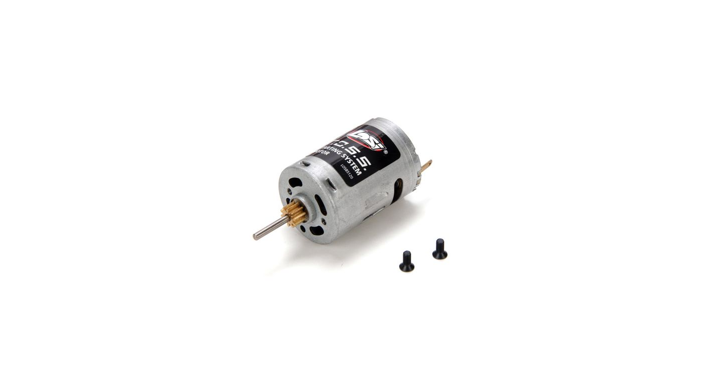 Image for 3.4 Starter Motor with Pinion: 10-T from HorizonHobby