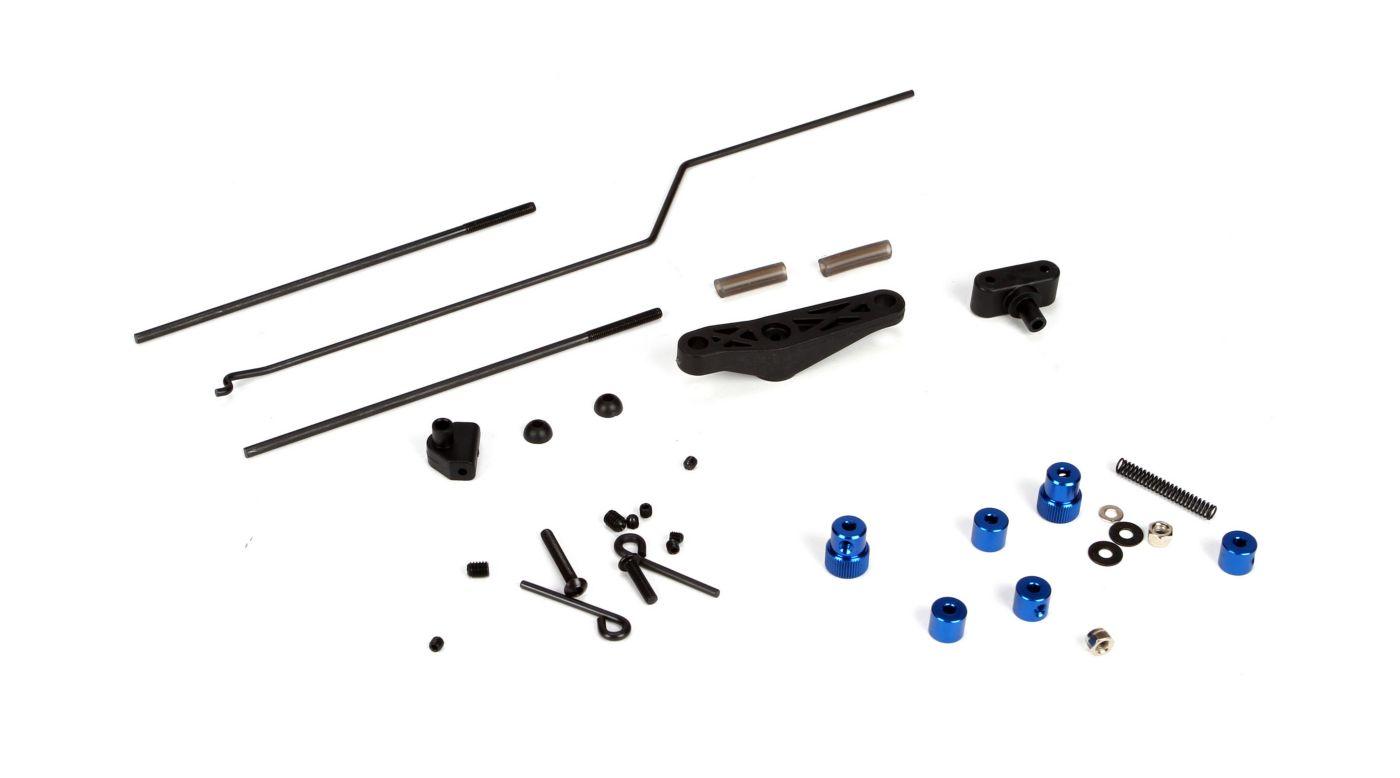Image for Throttle/Brake Linkage Set: 5IVE-T, MINI WRC from HorizonHobby