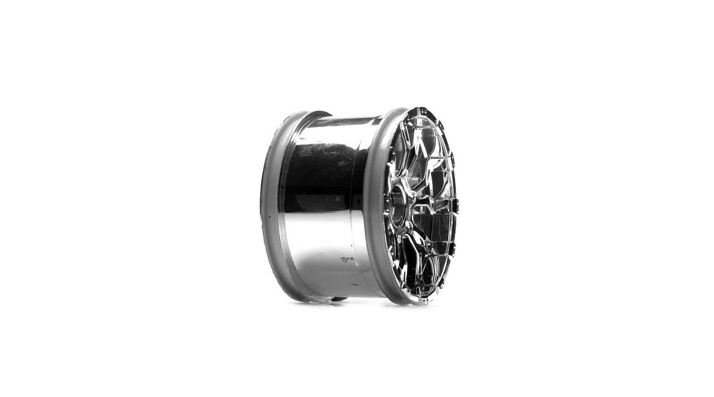 Image for 320S Force Wheel, Chrome (2) from HorizonHobby