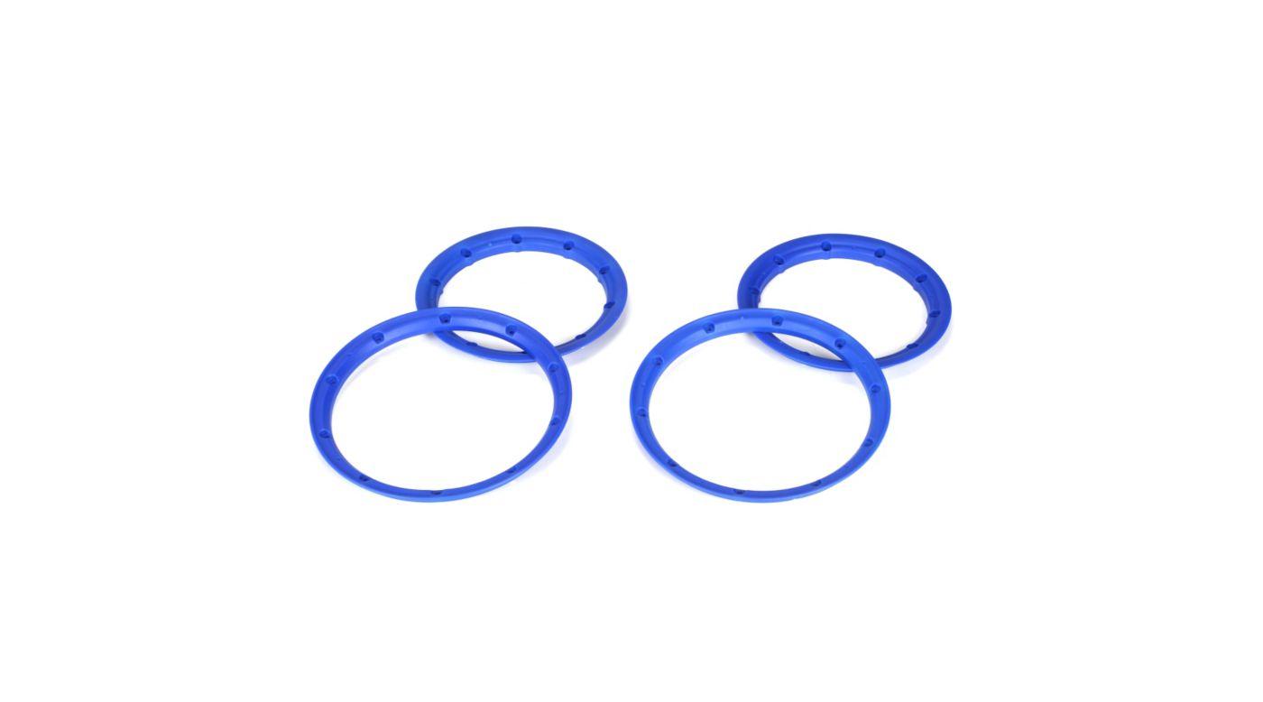 Image for Beadlock Set Inner & Outer Blue (2)  5IVE-T from HorizonHobby