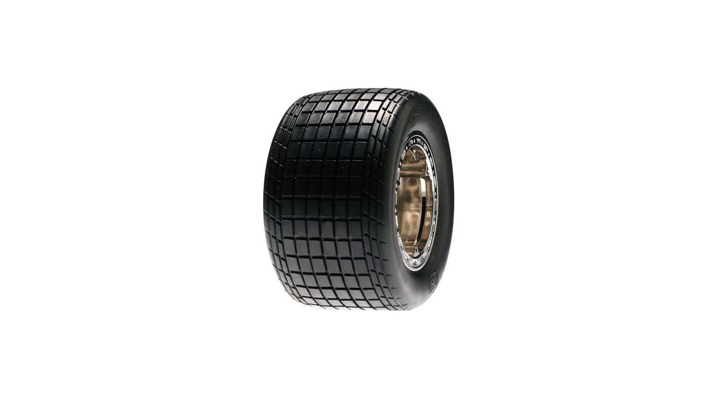 Image for Rear Wheel, Mounted, Chrome, (Pr): Slider from HorizonHobby