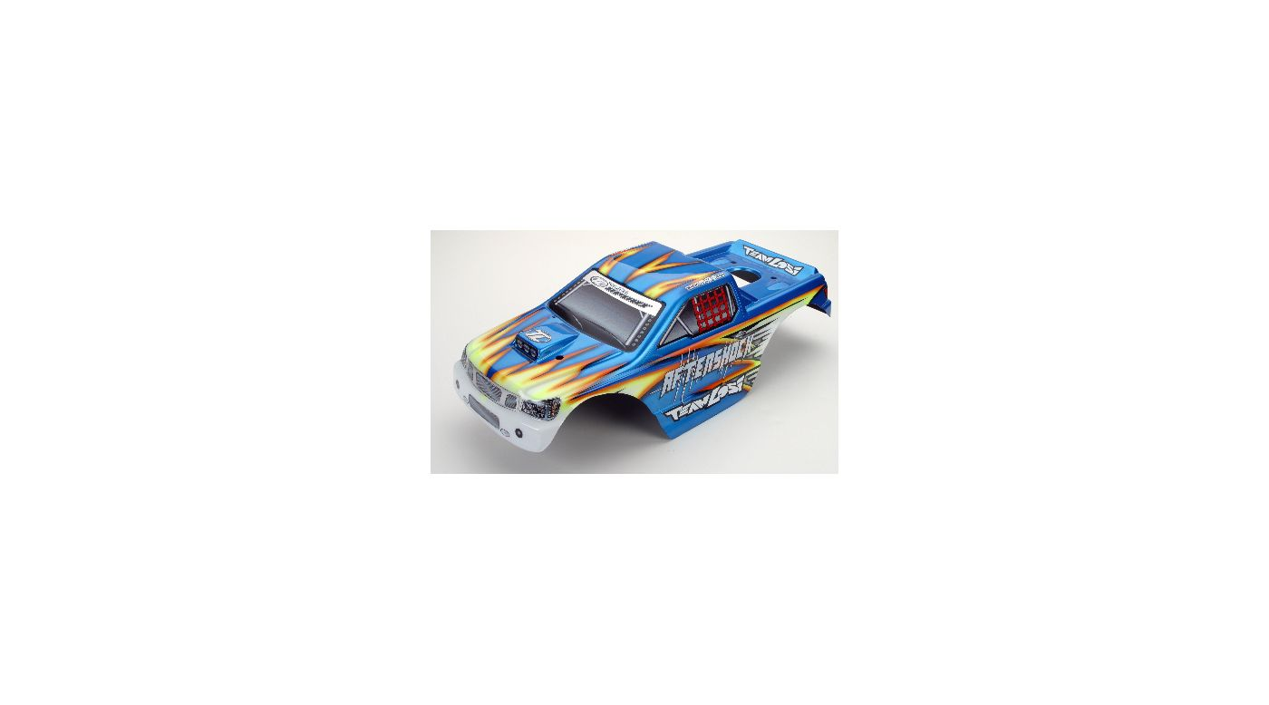 Image for Aftershock Painted Body, Blue w/Stickers, AFT from HorizonHobby
