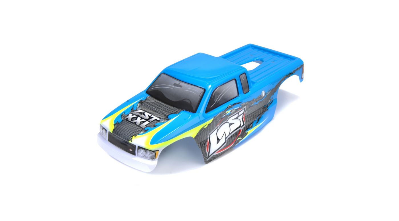 Image for XXL Painted Body, Blue with Stickers from HorizonHobby