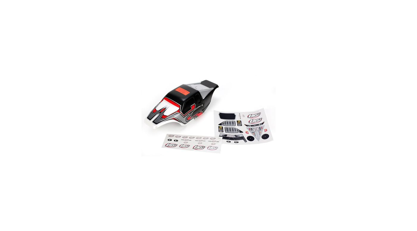 Image for Night Crawler BND Painted Body, Black/Red from HorizonHobby