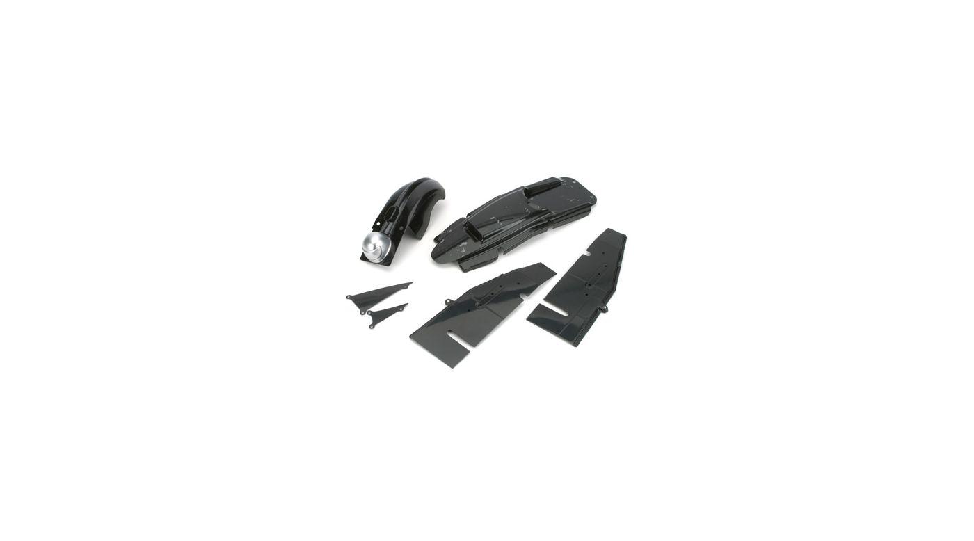 Image for Painted Body, Black: Slider from HorizonHobby