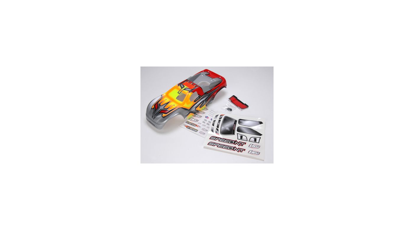 Image for Speed-NT Painted Body with Stickers, Red from HorizonHobby