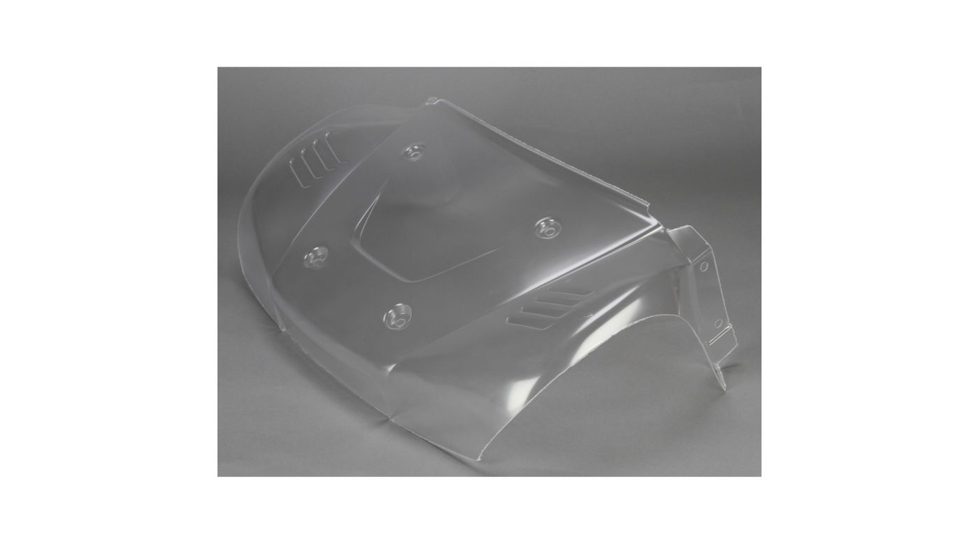 Image for Hood/Front Fenders Body Section, Clear: 5IVE-T from Horizon Hobby
