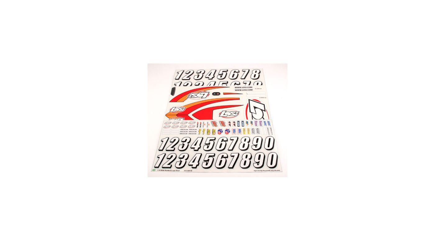 Image for Sticker Sheet: Slider from HorizonHobby