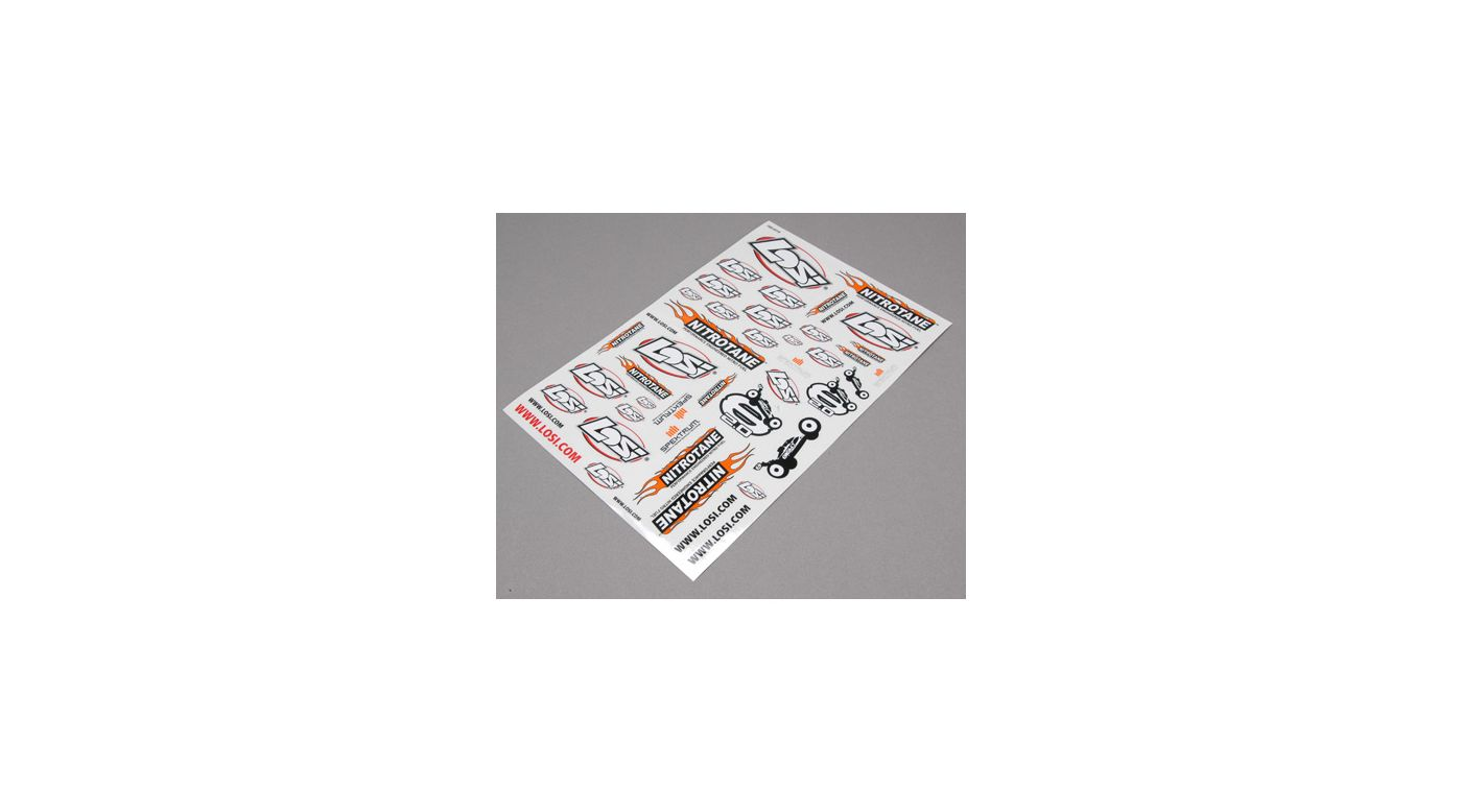 Image for 8IGHT 2.0 RTR Sticker Sheet from HorizonHobby