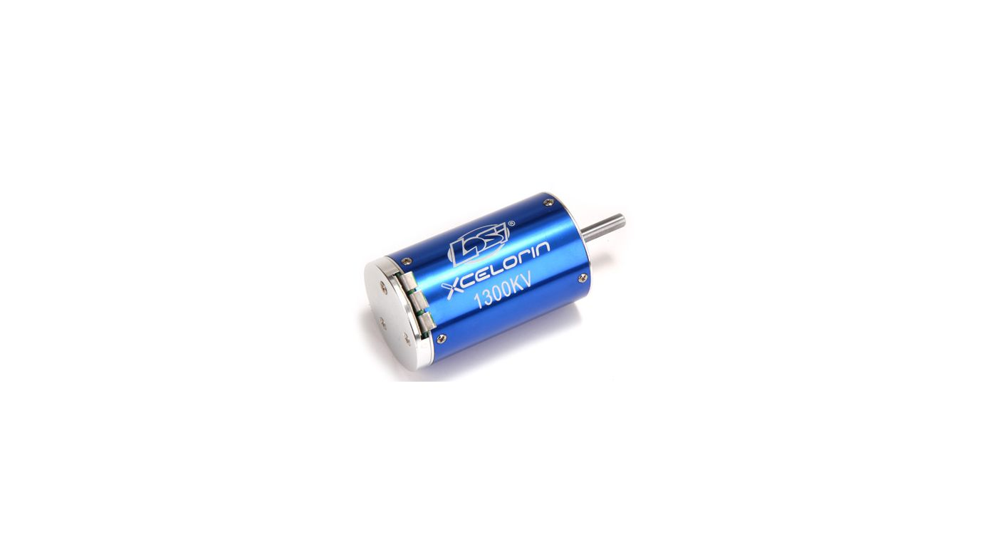 Image for 1/8 Xcelorin Brushless Motor, 1300Kv from HorizonHobby