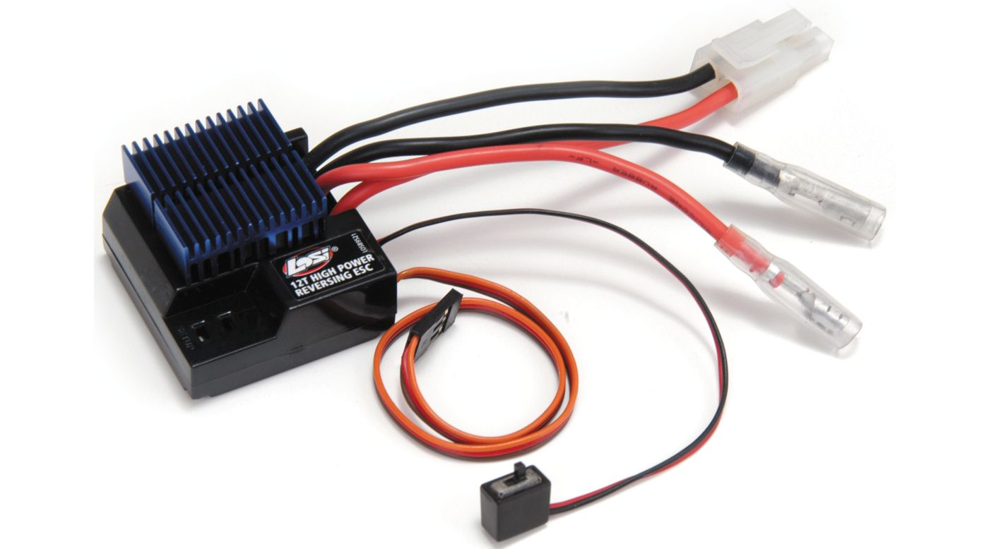 Image for MSC12SL 12T High-Power Forward/Reverse ESC from HorizonHobby