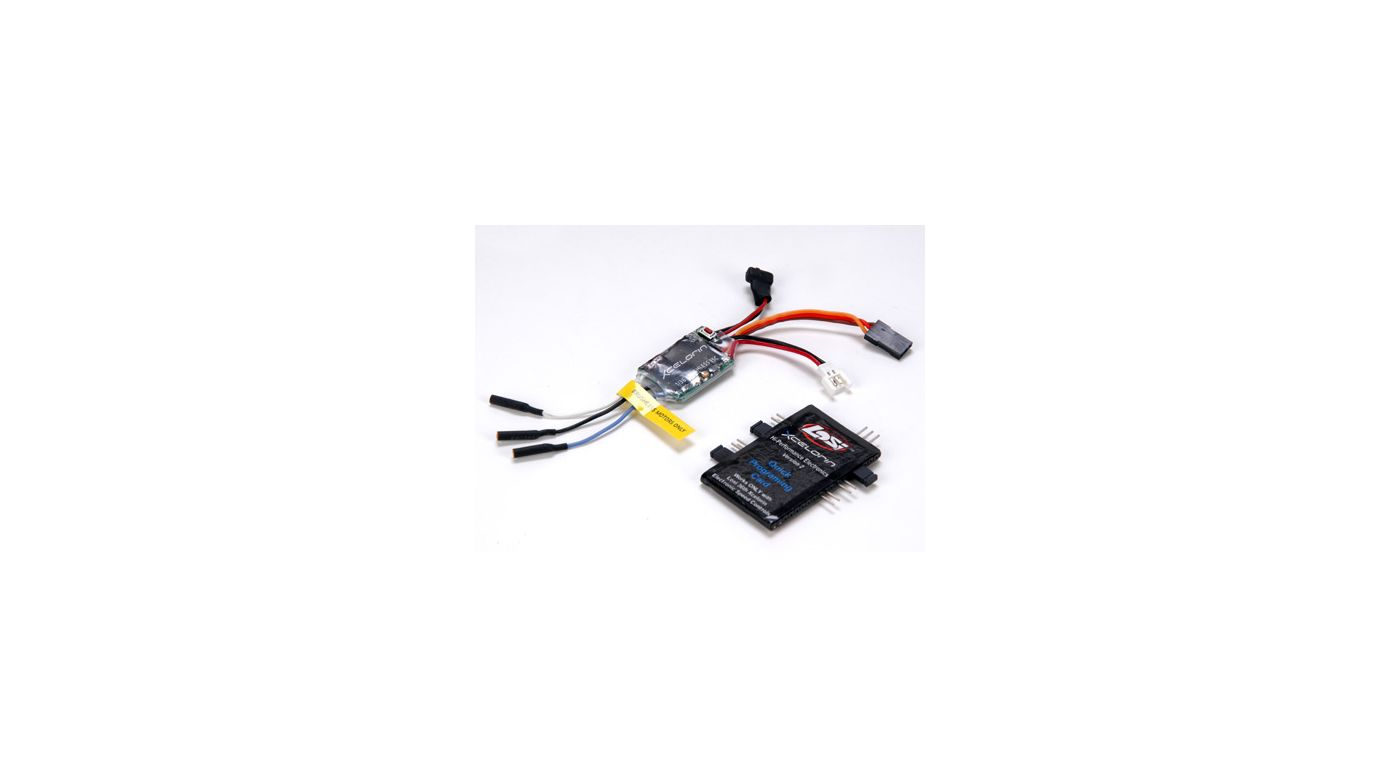 Image for 1/36 Xcelorin Brushless Electronic Speed Control from HorizonHobby