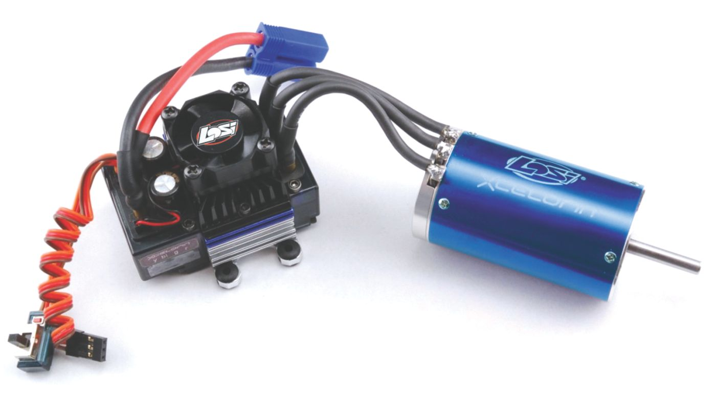 Image for 1/8 Xcelorin 2100Kv Brushless Combo from HorizonHobby