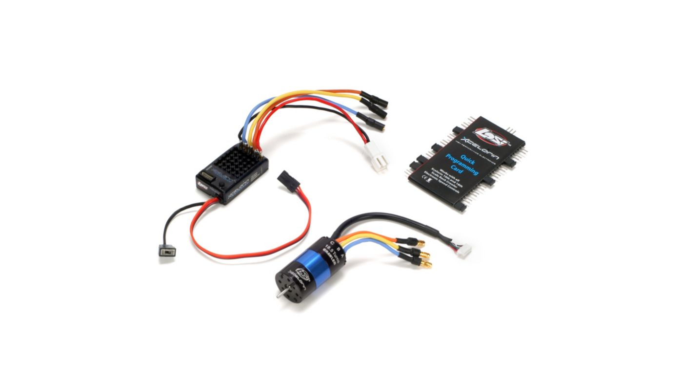 Image for 1/18 Xcelorin Sensored ESC/Motor Combo: MRC from HorizonHobby