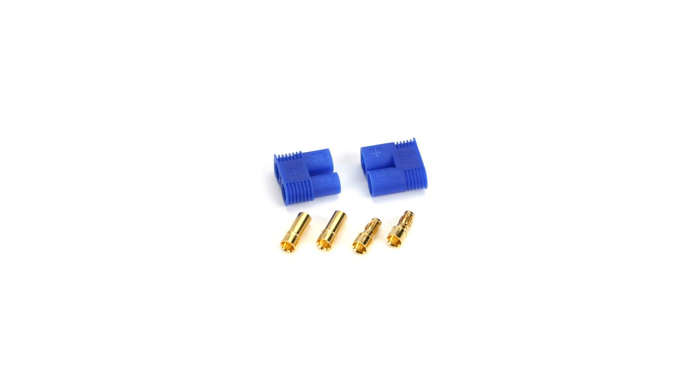 Image for EC3 Connector Set, Device/Battery (Pr) from HorizonHobby