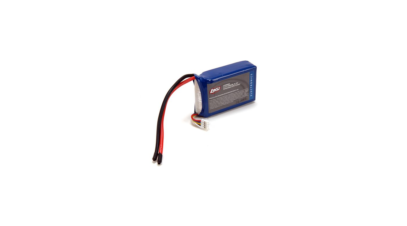 Image for 11.1V 1350mAh 3S 20C LiPo Battery: Crawlers from HorizonHobby