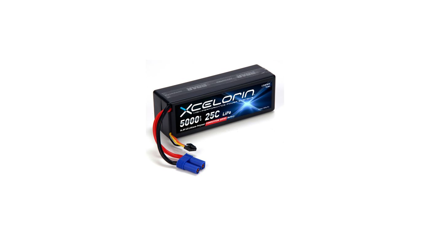 Image for 14.8V 5000mAh 4S 25C LiPo from HorizonHobby