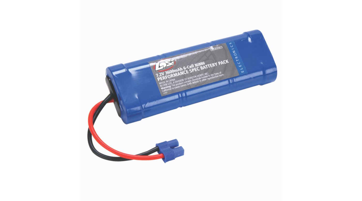 Image for 6-Cell 3600mAh NiMH Performance Pack with EC3 Conn from HorizonHobby