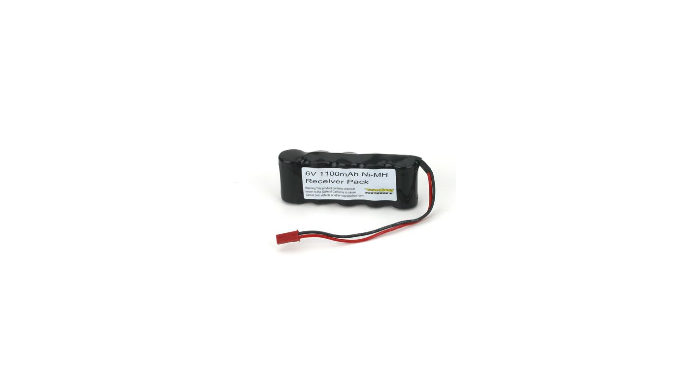Image for 6V 1100mAh NiMH Receiver Pack with BEC from HorizonHobby