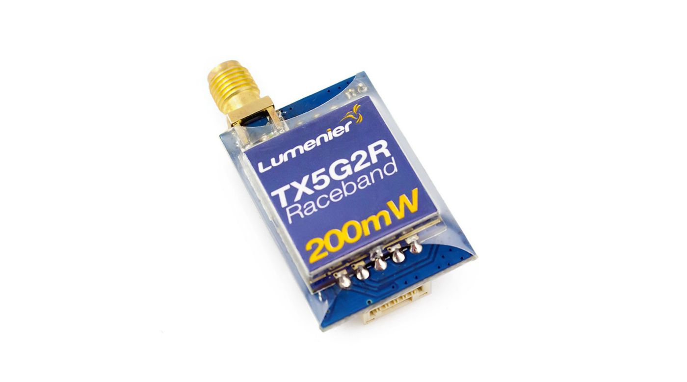 Image for TX5G2R Mini 200mW 5.8GHz Transmitter with Raceband from HorizonHobby