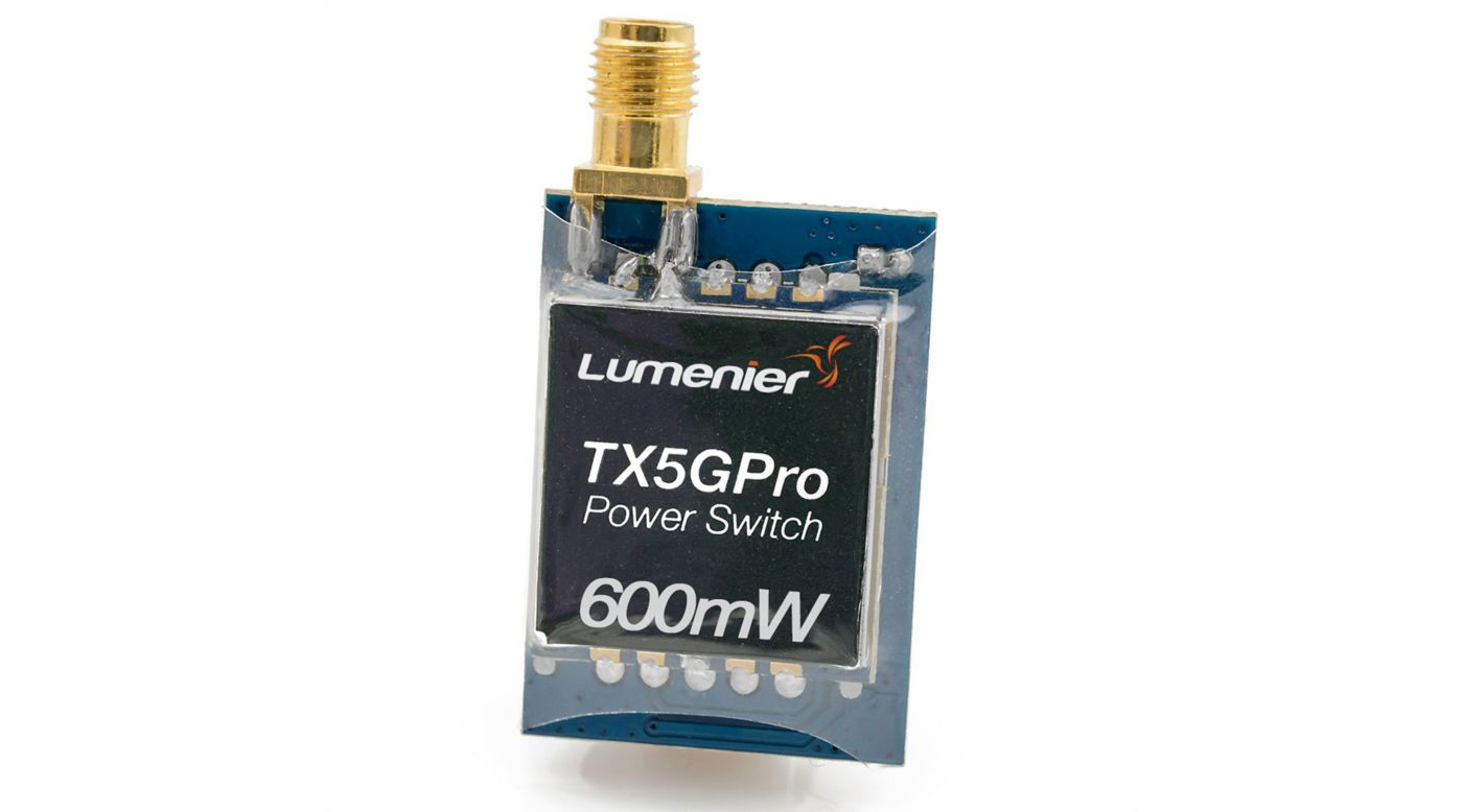Image for TX5GPro Mini 600mW 5.8GHz TX with Power Switch from HorizonHobby
