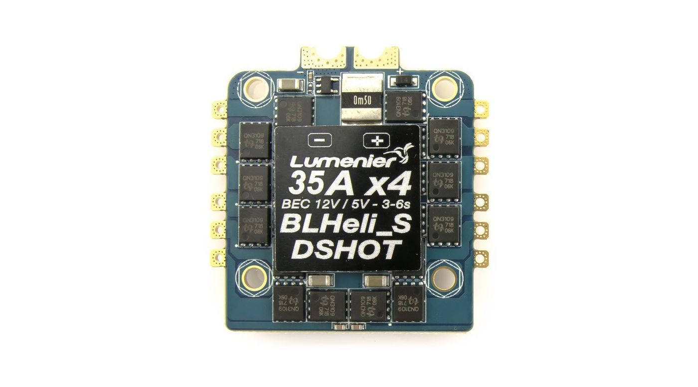 Image for 4-in-1 BLHELI S OPTO DSHOT 30A ESC & Current Sensor from HorizonHobby