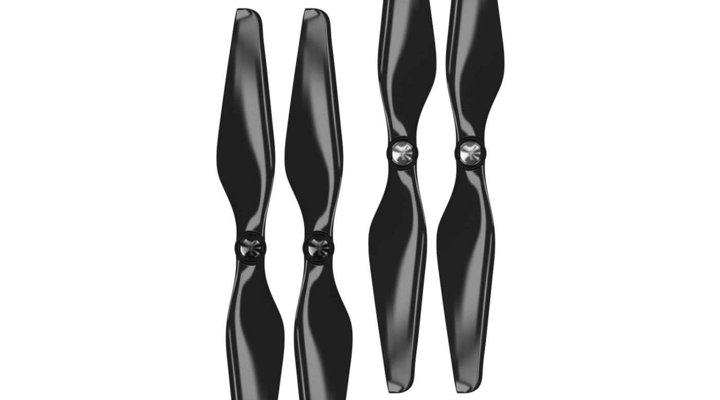 Image for 9.4 x 5 MR-PH Propeller C Set, Black (4): DJI Phantom from HorizonHobby