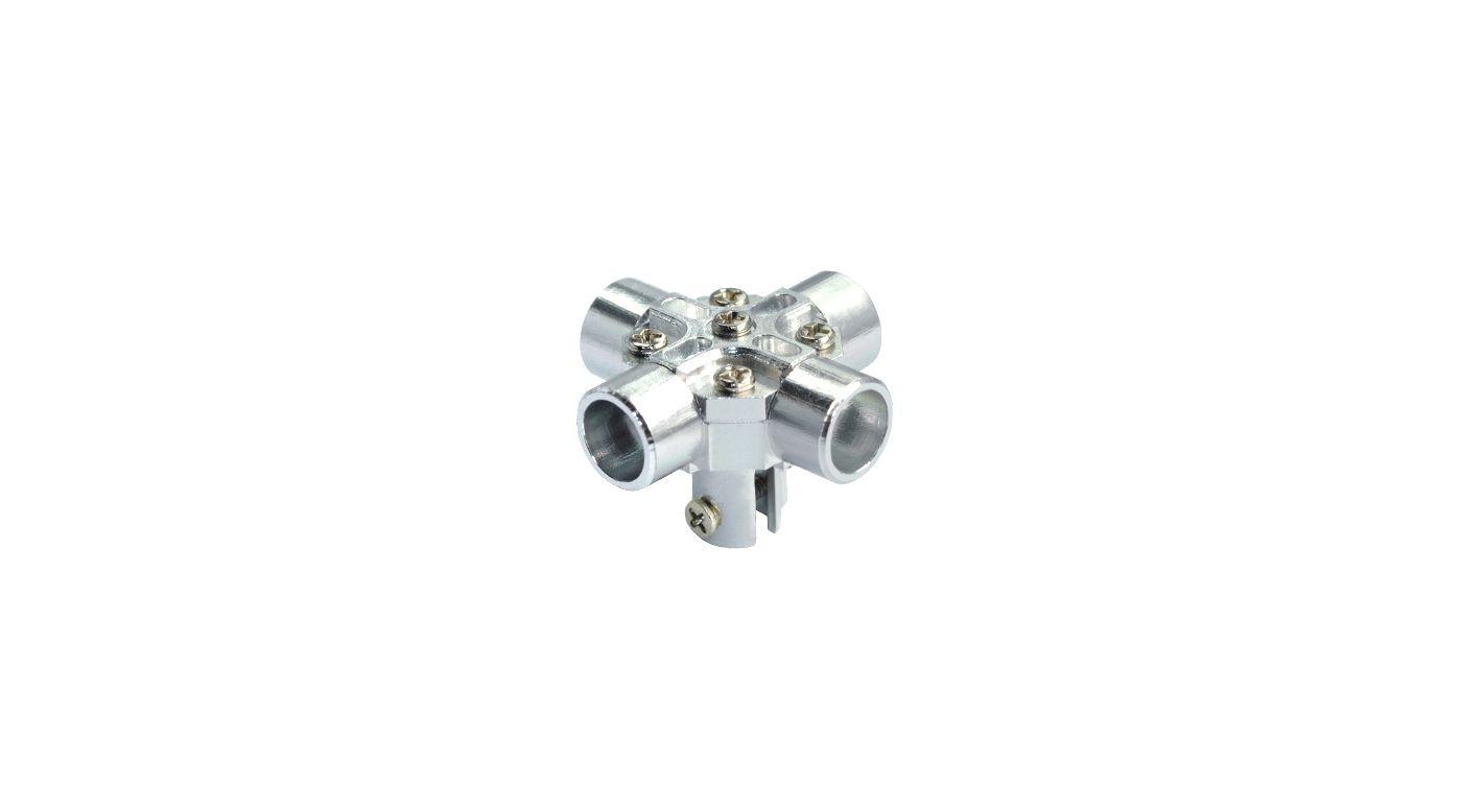Image for CNC Aluminum Main Rotor Hub: Blade Red Bull 130 X from HorizonHobby