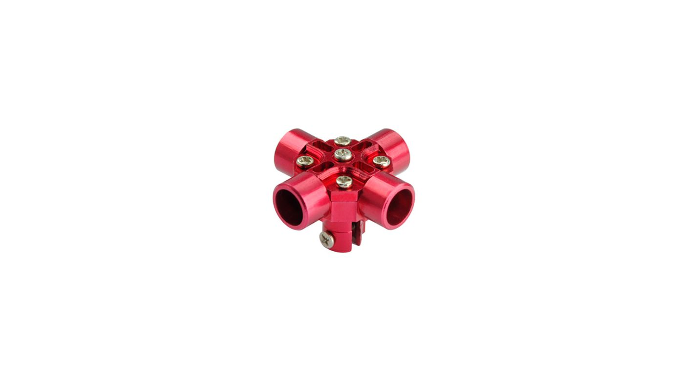 Image for CNC Aluminum Main Rotor Hub, Red: Blade Red Bull 130 X from HorizonHobby