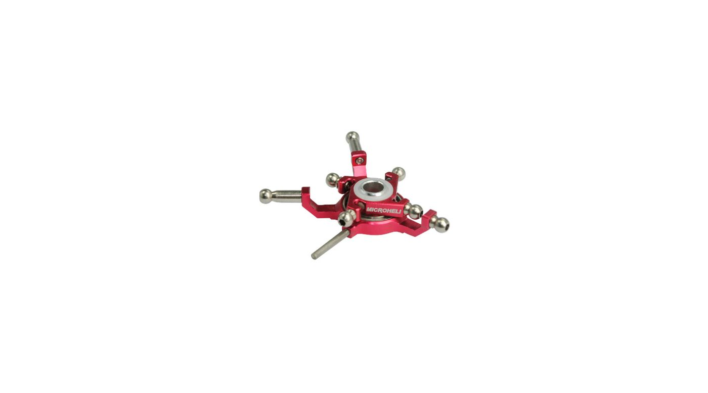 Image for CNC Titanium X Swashplate, Red: Blade Red Bull 130 X from HorizonHobby