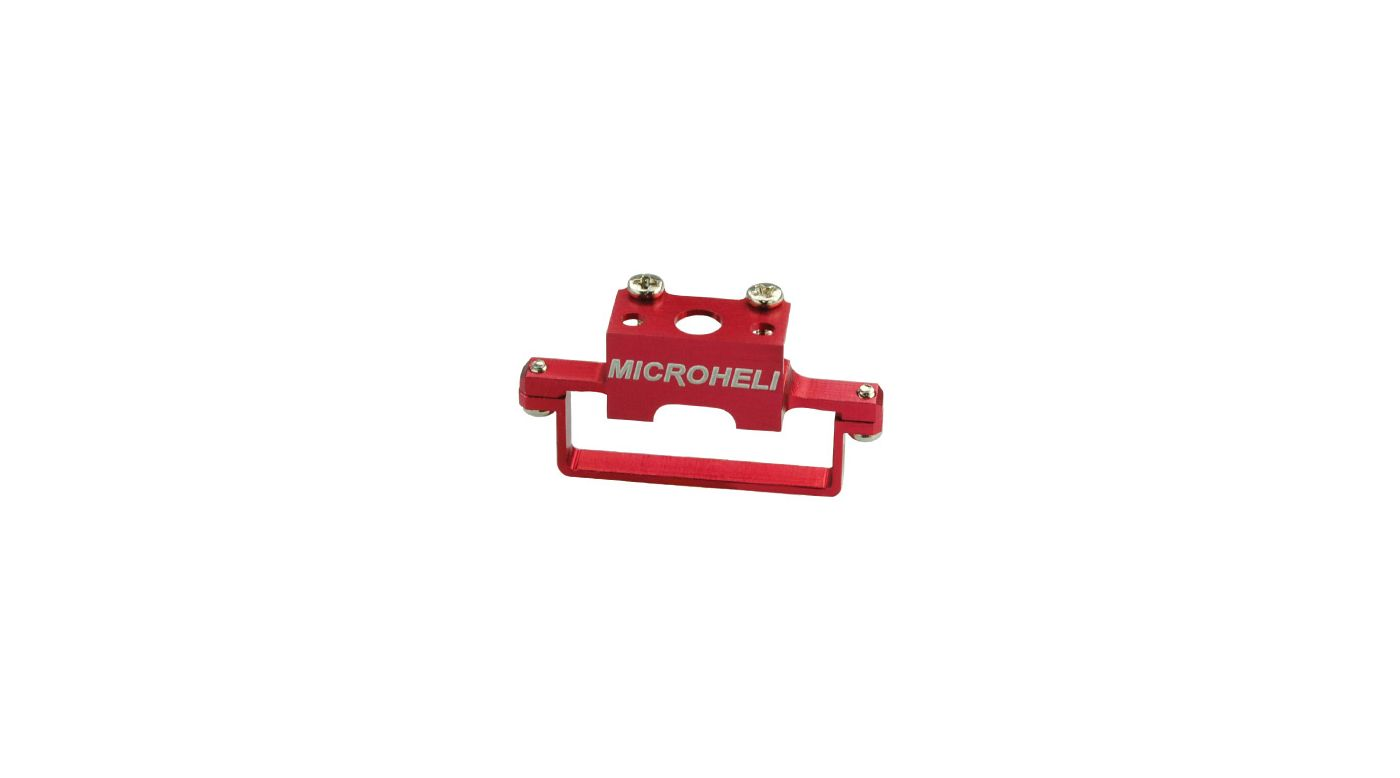Image for Aluminum DS35 Tail Servo Mount, Red: Blade Red Bull 130 X from HorizonHobby