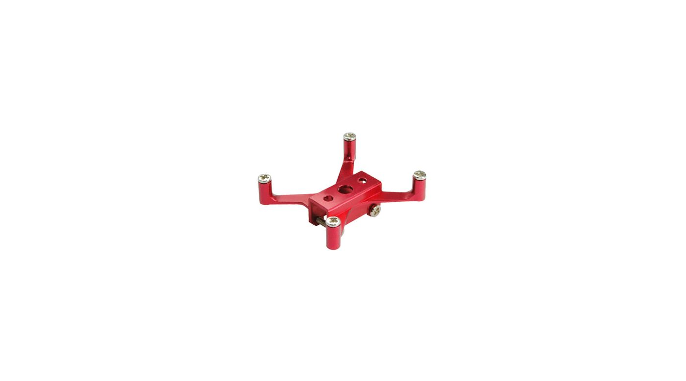 Image for Aluminum Tail Servo Mount, Red: Blade Red Bull 130 X from HorizonHobby