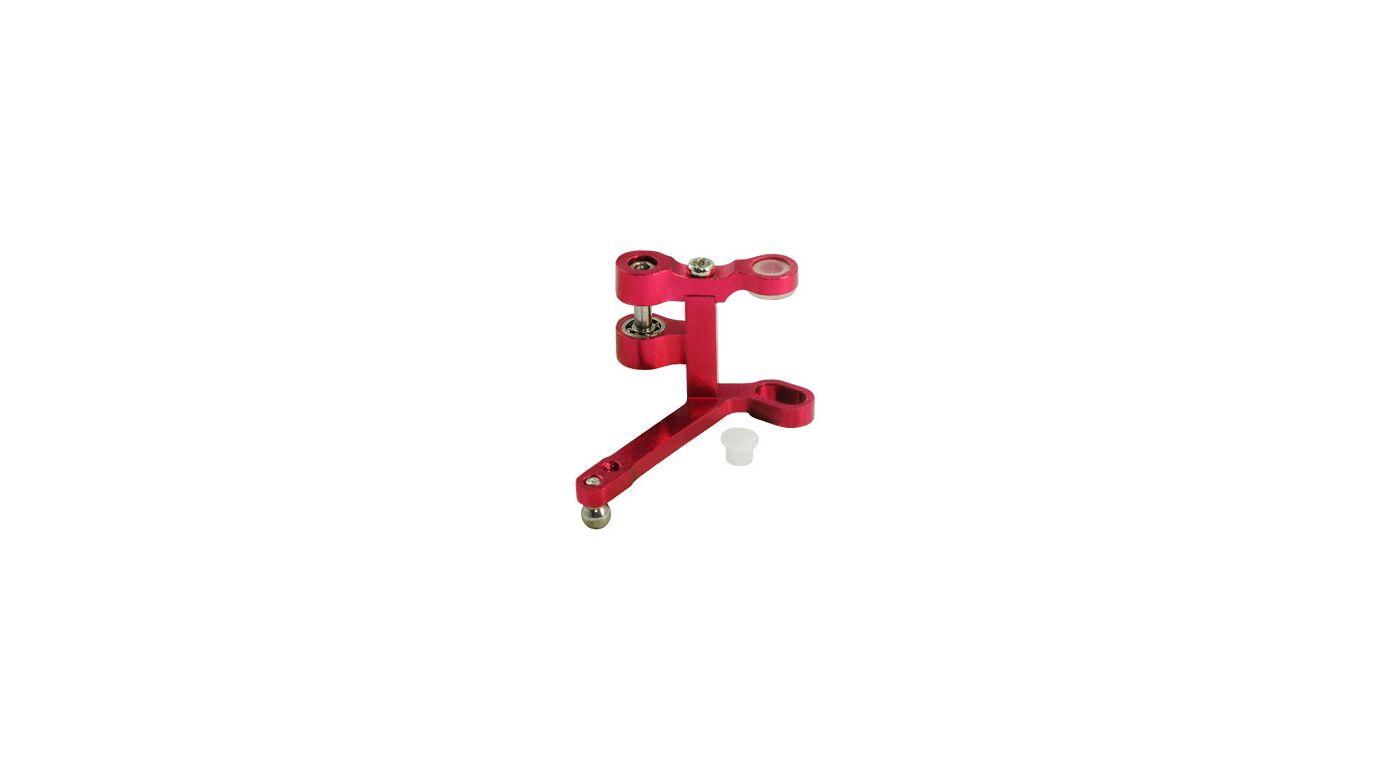 Image for Aluminum Tail Pitch Lever, Red: Blade Red Bull 130 X from HorizonHobby