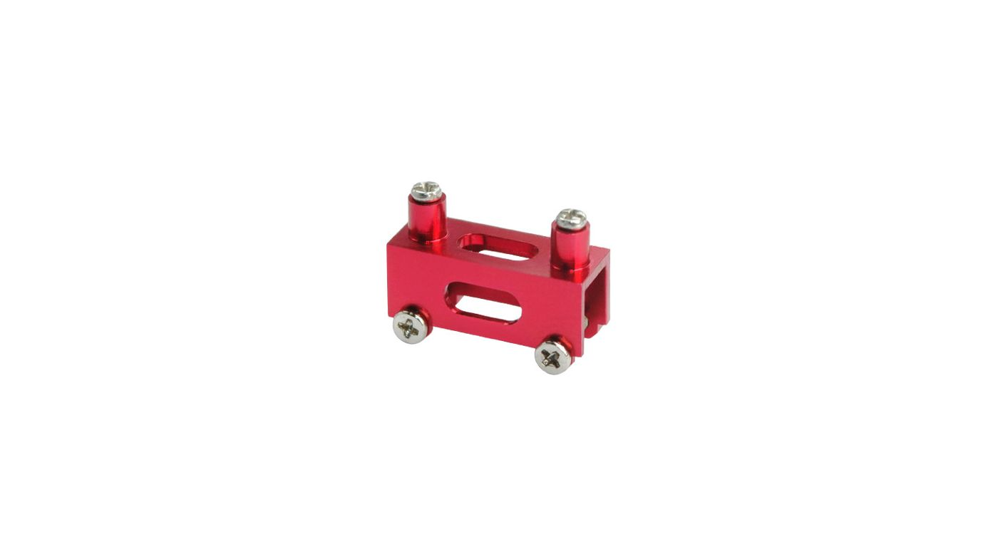 Image for Aluminum Tail Canopy Mount, Red: Blade Red Bull 130 X from HorizonHobby