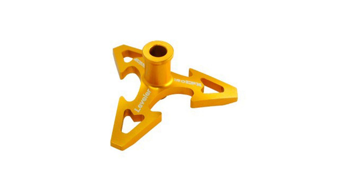 Image for CNC Aluminum Swashplate Leveler, Gold: 180 CFX from HorizonHobby