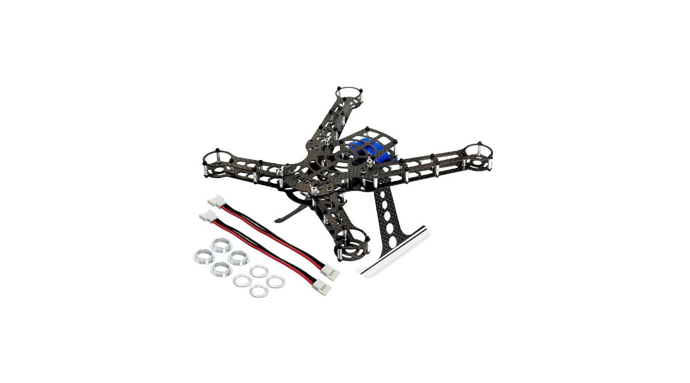 200 QX Frame Kit, Aluminum/Carbon Fiber   HorizonHobby