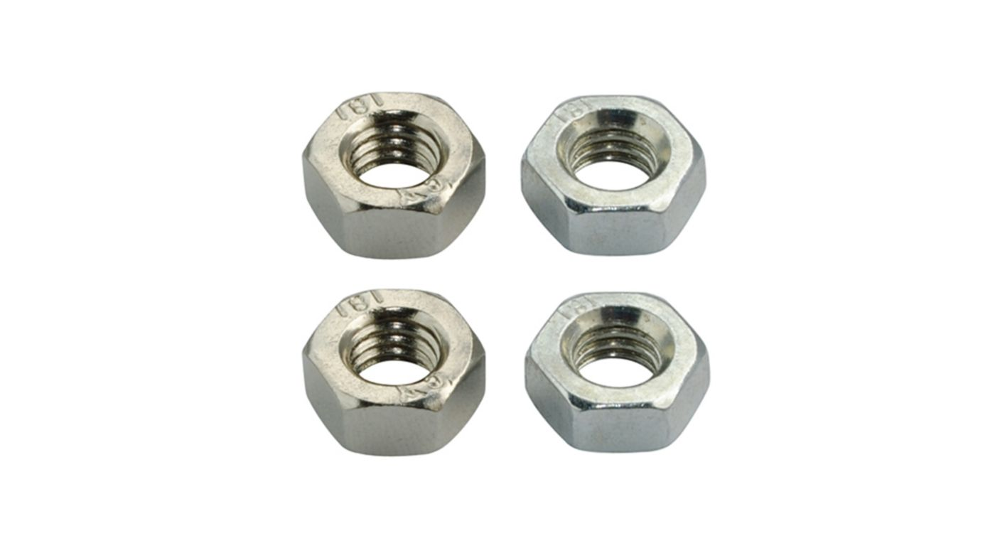 Image for Steel CW/CCW Hex Nut M6x1 for MH Prop Adapter: Blade 350 QX from HorizonHobby