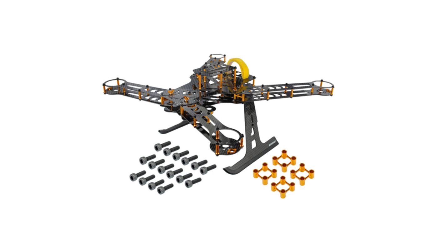 Image for CNC Aluminum/Carbon Fiber Quad Frame Kit, Gold: 350 QX from HorizonHobby